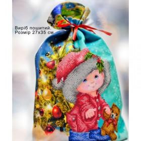 Пошитый мешочек для подарочков Новый год Biser-Art 23004 - 106.00грн.