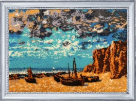 Набор для вышивания бисером Лодки на берегу Баттерфляй (Butterfly) 395Б - 643.00грн.