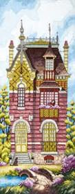 Набор для вышивания крестом Дом мечты