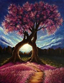 Набор для выкладки алмазной мозаикой Дерево счастья