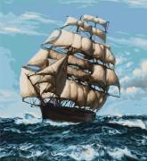 Набор для вышивки крестом Корабль
