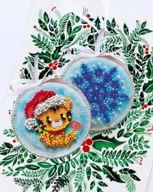 Набор для вышивки новогоднего украшения Тигренок Абрис Арт АВТ-024 - 75.00грн.