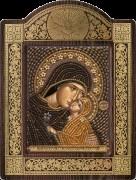 Набор для вышивки бисером Св. Анна с младенцем Марией