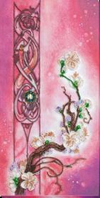 Набор для вышивания бисером Цвет сакуры Абрис Арт АВ-799 - 392.00грн.