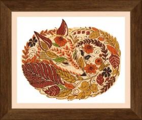Набор для вышивания крестом Краски осенью