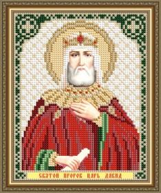 Схемы вышивки бисером на авторской канве Святой Пророк Царь Давид Art Solo VIA5187 - 25.00грн.