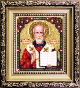 Набор для вышивки ювелирным бисером Николай Чудотворец