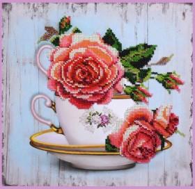 Набор для вышивки бисером Чайный дуэт 1 Картины бисером Р-390 - 275.00грн.