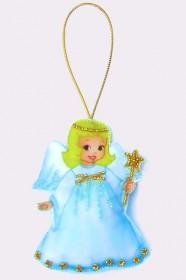 Набор для изготовления куклы из фетра для вышивки бисером Ангел, , 48.00грн., F006, Баттерфляй (Butterfly), Наборы для шитья кукол