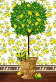 Схема для вышивки бисером на атласе Дерево процветания  А-строчка АХ2-020 - 159.00грн.