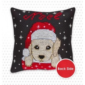 Набор подушки для вышивки крестом Собачка Luca-S PB173 - 350.00грн.