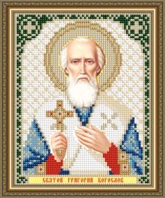 Схема вышивки бисером на авторской канве Святой Григорий Богослов Art Solo VIA5192 - 25.00грн.