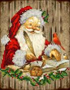 Набор для вышивки ювелирным бисером Рождественские истории 12