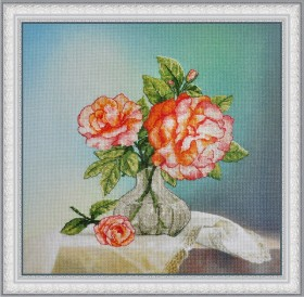 Набор для вышивки нитками Розы OLANTA VF - 002 - 330.00грн.