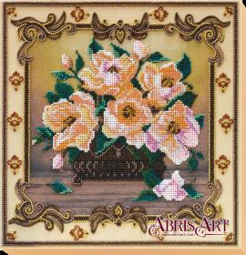 Набор для вышивки бисером на холсте Баллада о цветах Абрис Арт АВ-505 - 436.00грн.