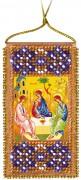 Набор - оберег для вышивки бисером Молитва Пресвятой Троице (укр. яз)