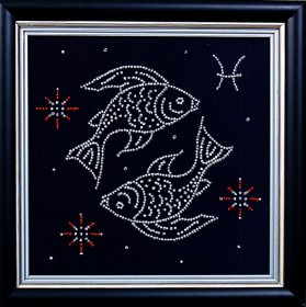 Набор для вышивки бисером Рыбы, , 102.00грн., БГ-002 МК, Магия канвы, Гороскоп