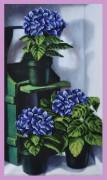 Набор для вышивки бисером Цветущая гортензия