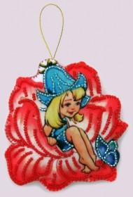 Набор для изготовления игрушки из фетра для вышивки бисером Дюймовочка Баттерфляй (Butterfly) F119 - 54.00грн.