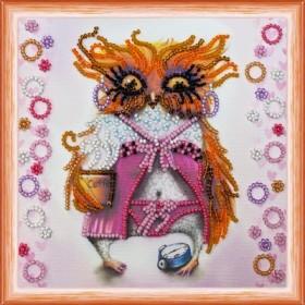 Набор для вышивки бисером Сова с чашкой кофе Абрис Арт АМ-104 - 102.00грн.