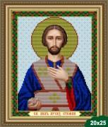 Рисунок на ткани для вышивки бисером Святой Стефан