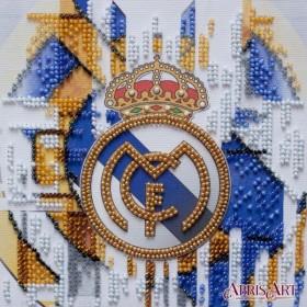 Набор-мини для вышивки бисером на натуральном художественном холсте ФК Реал Мадрид Абрис Арт АМ-209 - 107.00грн.