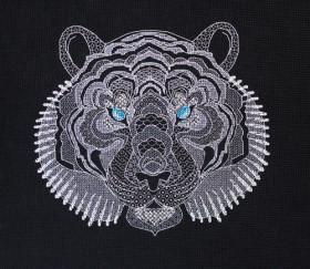 Набор для вышивки крестом Белый тигр Абрис Арт АН-126 - 223.00грн.