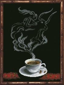 Набор для вышивки крестом Кофейная фантазия. Телец 1, , 229.00грн., 30413, Краса и творчiсть, Гороскоп