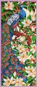 Набор для вышивки бисером Павлин