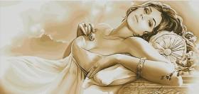 Набор для выкладки алмазной мозаикой Женские мечты Алмазная мозаика DM-142 - 595.00грн.