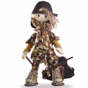 Набор для шитья куклы Сафари Брат 2