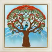 Набор для вышивки нитками Дерево жизни
