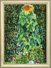 Набор для вышивки бисером Подсолнух (по мотивам Г. Климта) Баттерфляй (Butterfly) 137Б