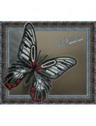 Набор для вышивки бисером на прозрачной основе Бабочка Парусник Румянцева