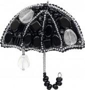 Набор для изготовления броши Вечерний дождик