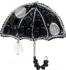 Набор для изготовления броши Вечерний дождик Чарiвна мить (Чаривна мить) БП-203