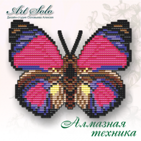 Набор-магнит для выкладки алмазной мозаикой Дикий Велизар  Art Solo БАТ11 - 110.00грн.