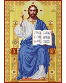 Схема вишивкі бісером на габардині Господь Вседержитель на троне Акорнс А3-И-564 - 70.00грн.