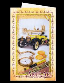 Набор для вышивки бисером Открытка-конверт Лондонский стиль Абрис Арт АОМ-013 - 89.00грн.