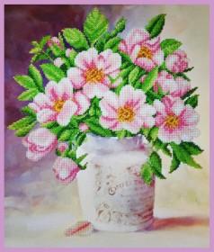Набор для вышивки бисером Майская роза Картины бисером Р-298 - 393.00грн.