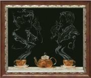 Набор для вышивки крестом Чайная фантазия 1