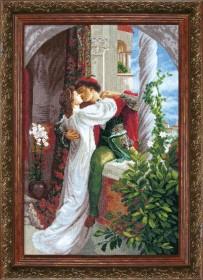 Набор для вышивки крестом Ромео и Джульетта по мотивам Фрэнка Бернарда Дикси Cristal Art ВТ-034 - 511.00грн.