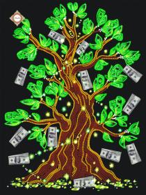Схема для вышивки бисером на атласе Дерево достатка Миледи СЛ-3075 - 94.00грн.