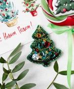 Набор для создания украшения Новогодняя елочка