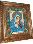 Набор для выкладки алмазной мозаикой Пресвятая Богородица Семистрельная