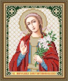 Схема вышивки бисером на авторской канве Святая Мирослава Константинопольская Art Solo VIA5305 - 25.00грн.