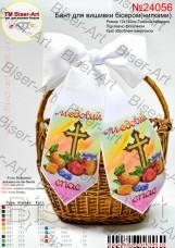 Бант для вышивки бисером (нитками) На праздник спаса Biser-Art В24056