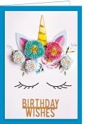 Набор - открытка 3D для вышивки бисером  Поверь в чудеса