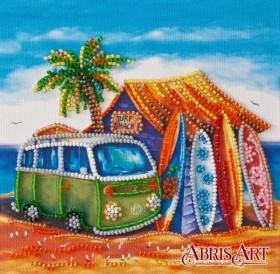 Набор-мини для вышивки бисером на натуральном художественном холсте Серфинг Абрис Арт AM-197 - 107.00грн.