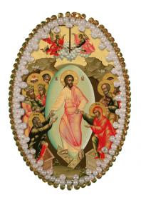 Набор для изготовления подвески Воскресение Христово Zoosapiens РВ3203 - 128.00грн.